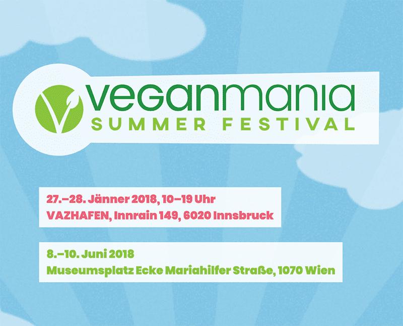 Logo Veganmania Summer Festival 2018