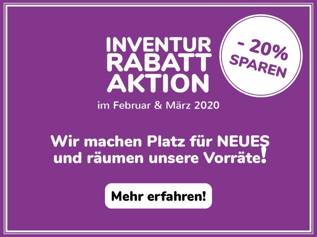Libuni Popup_Rabattaktion Inventur 2020