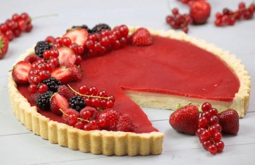 Erdbeer Panna Cotta Tarte by Melli